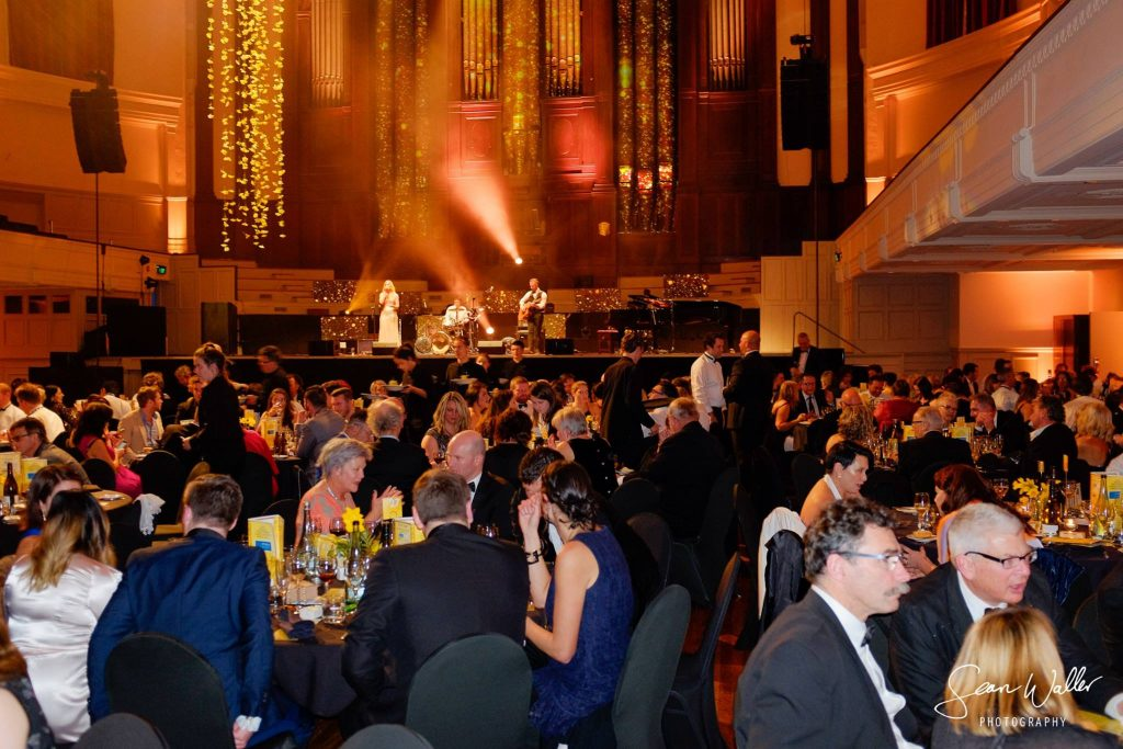 Dunedin Gala Dinner for Cancer Society Event Band